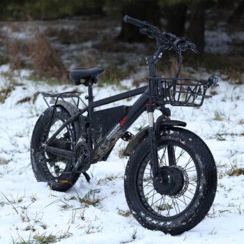 hardcore ecycles electric bike - dual 750 watt model