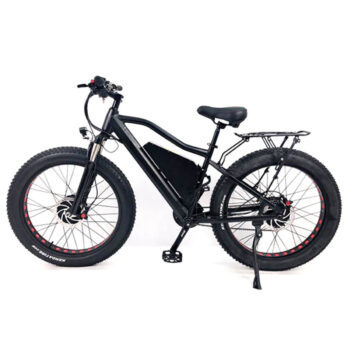 2 wheel drive ebike by Hardcore eCycles