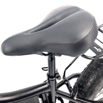 shock absorbing seat for electric bike by Hardcore eCycles