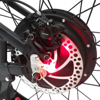 tailight on ebike - HEC2000 by Hardcore eCycles