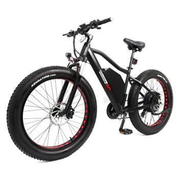 quartering view of hardcore ecycle electric bike 2000 watt ebike