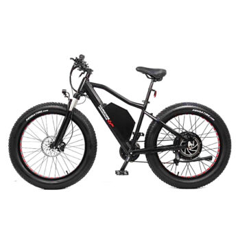 hardcore ecycle electric bike - left side view